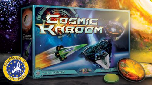 Cosmic Kaboom - Disk Flicking Game