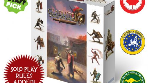 Gladiator: Quest for the Rudis, arena combat for 1-4 players
