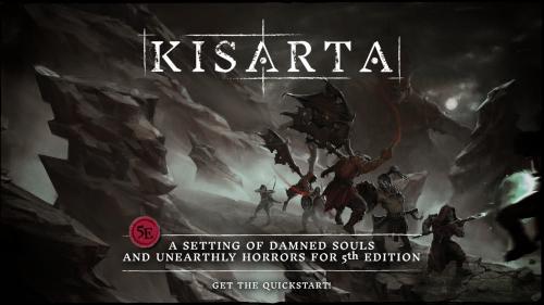 Kisarta, a 5e rpg setting of damned souls and dark horrors