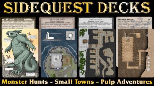 RPG Sidequest Decks
