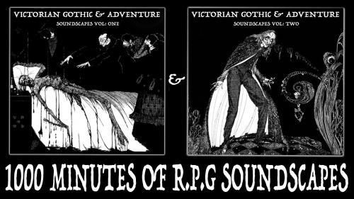 Victorian Gothic & Adventure Soundscapes Vol 1 & 2
