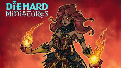 Diehard Miniatures: Wizards and their Magics!