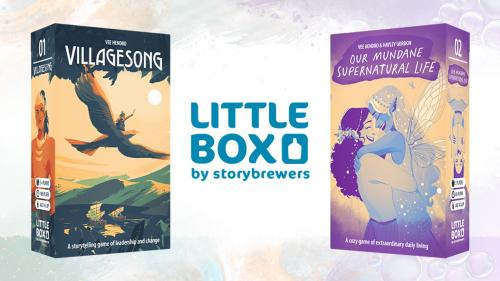 Littlebox RPGs: two complete story games in two little boxes