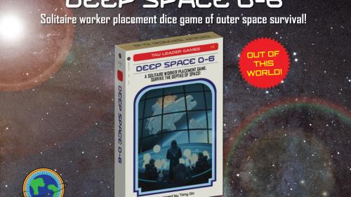 Deep Space D-6 — 1 Player Worker Placement Dice Game
