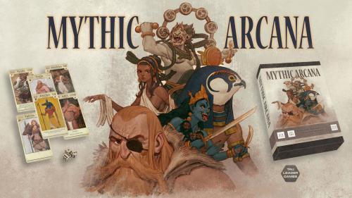 Mythic Arcana - Roll dice, summon gods, rule the heavens.