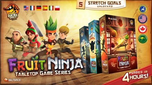 Fruit Ninja - Tabletop Game Series (Canceled)