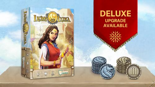 Lions of Lydia: A Strategic Game of Ancient Prestige