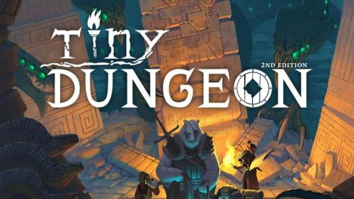 Tiny Dungeon 2e - Minimalist fantasy roleplaying is back!
