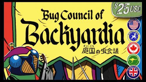 Bug Council of Backyardia / 庭国の虫会議