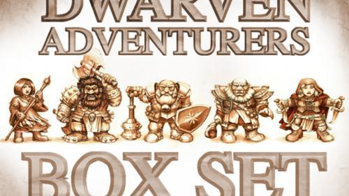 Dwarven Adventurers Box Set