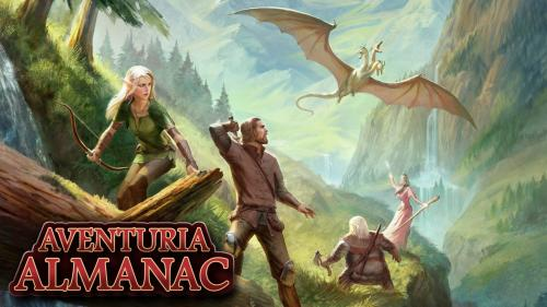 Aventuria Almanac - The Dark Eye RPG