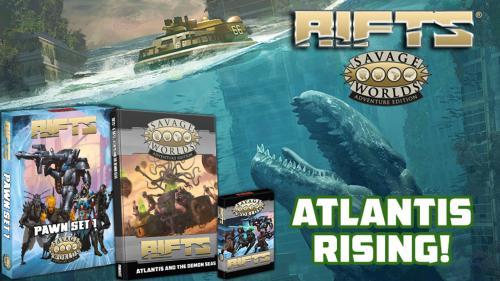 Rifts® for Savage Worlds: Atlantis Rising