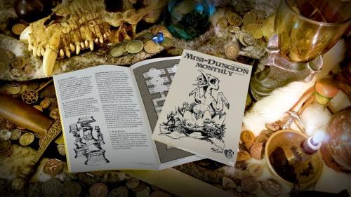 Mini-Dungeon Monthly: RPG zine for D&D 5th Edition