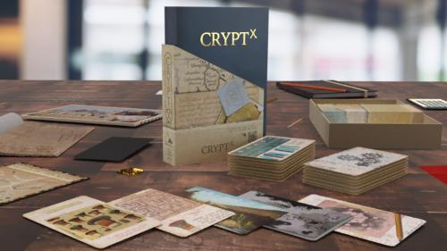 Crypt X - a Narrative Puzzle Game