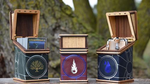 Centurion, the Elderwood Deck Box