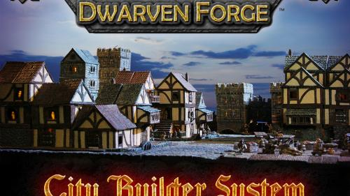 Dwarven Forge s Modular City Builder Terrain System