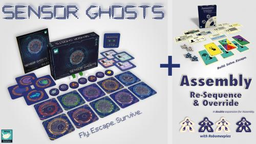 Sensor Ghosts & Assembly: 2 Unique Sci-Fi Coop Puzzle Games
