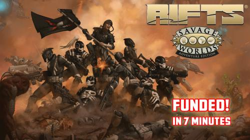 Rifts® for Savage Worlds: American Armageddon