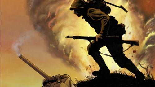 Combat Infantry: World War 2 tactical block game