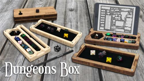 Dungeons Box - the Ultimate Tabletop RPG Companion
