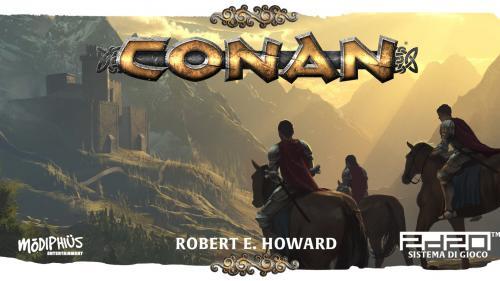 Conan GDR - Wyrd Edizioni