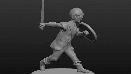 Modelling Miniatures - Digital modelling for 3D Printing