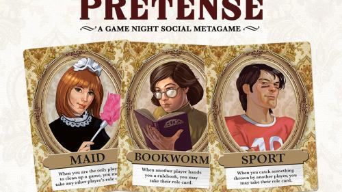 Pretense - A Game Night Social Metagame