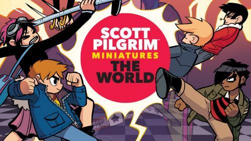 Scott Pilgrim Miniatures The World