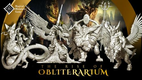 The Rise Of Obliterarium - Fantasy Miniatures