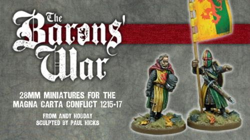 The Barons  War - 28mm Medieval Miniatures