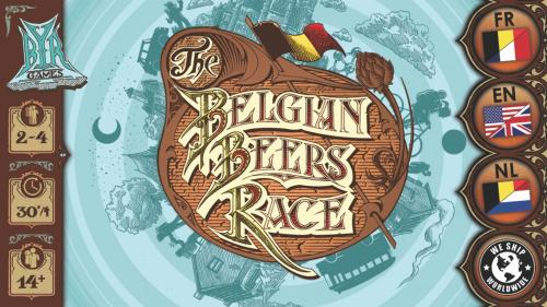 The Belgian Beers Race - Boardgame