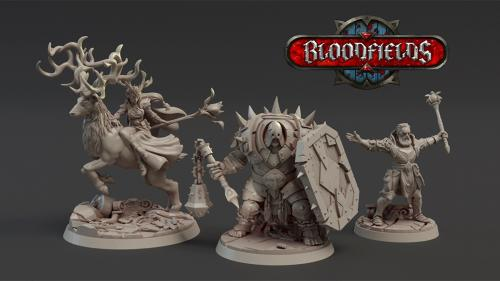 BLOODFIELDS : Complete 3D Printable Wargame