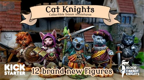Cat Knights by Blood Carrot Knights