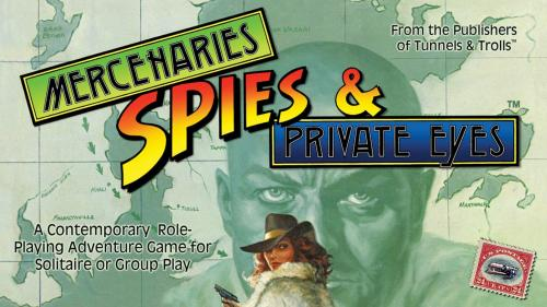 Mercenaries Spies & Private Eyes RPG by Michael Stackpole