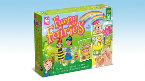 Funny Fairies: The fun fairy-building children s board game!