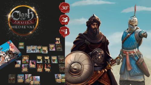 Clash of Armies: Medieval deckbuilding