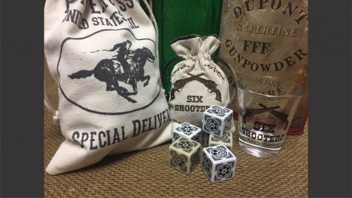 Six Shooters - Western Themed Dice!