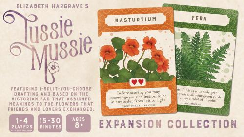 Tussie Mussie: Expansion Collection by Elizabeth Hargrave