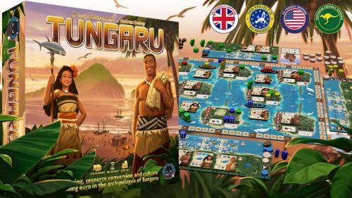 Tungaru - A Euro game designed by Louis & Stefan Malz