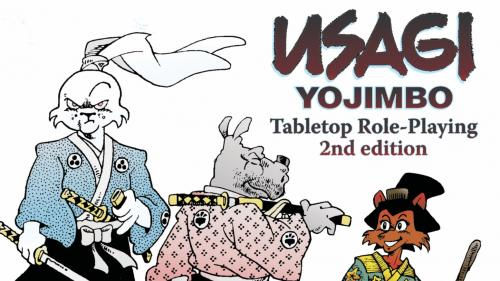 USAGI YOJIMBO Tabletop Role-Playing Game — Second Edition
