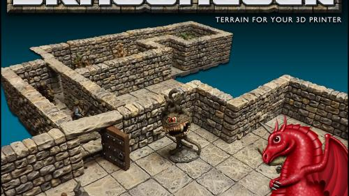 DRAGONLOCK™ 28mm Scale Dungeon Gaming Terrain