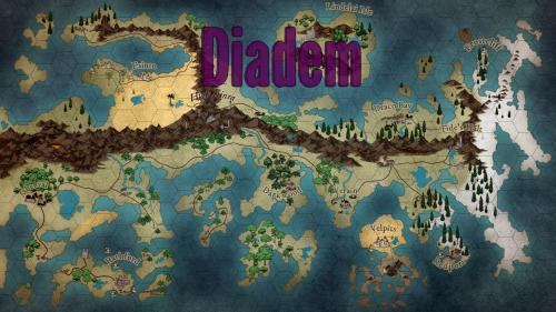 Diadem: A War-Simulating, Kingdom-Creating RPG.
