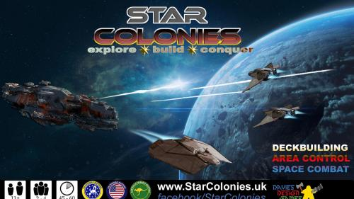 STAR COLONIES the area-control deck-building board game