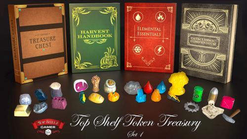 The Top Shelf Token Treasury: Volumes 1 - 4