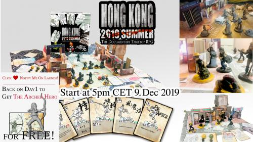 """""""Hong Kong: Summer 2019"""" (English) 《香港: 2019夏》(廣東話版/台灣正體版)"""