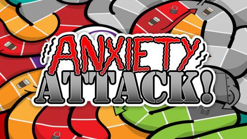 Anxiety ATTACK! the Board Game by The Awkward Yeti