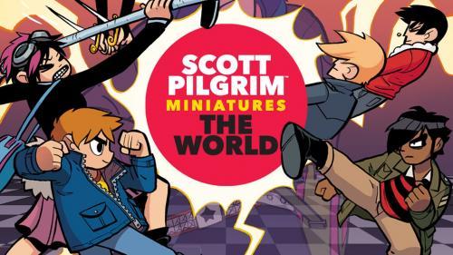 Scott Pilgrim Miniatures the World - Relaunch!