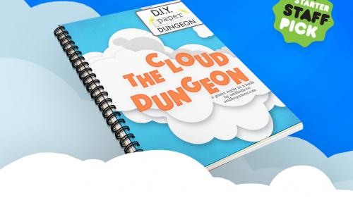The Cloud Dungeon: D.I.Y. paper craft RPG game. DIY fun!