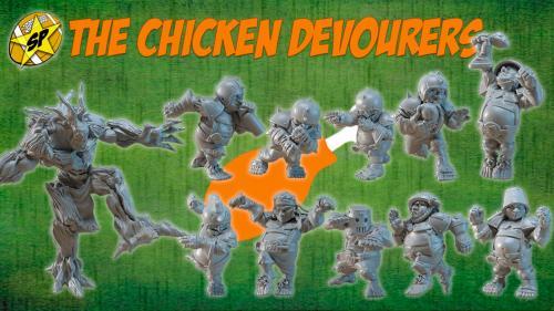 Halfling team for Fantasy Football! The Chicken Devourers!