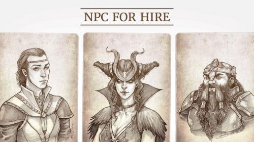 NPC For Hire: Fantasy Races